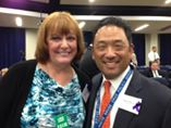 david Mineta ONDCP and Sharon